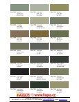 RAL Farbtonkarte / Carte de Teintes / Colour Card - Page 7