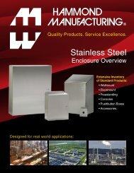 Stainless Steel Solutions - Hammond Mfg.
