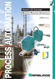 Remote I/O Systeme Remote Process Interface - Steven Engineering