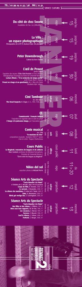 Janvier - Université Rennes 2