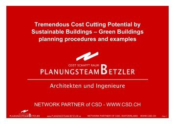 Planungsteam Betzler - Sesam Business Consultants