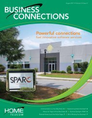 BUSINESS CONNECTIONS - Home Telecom