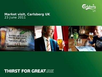 UK market visit 23 June 2011.pdf - Carlsberg Group