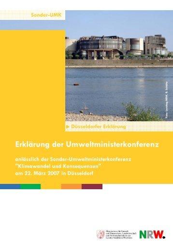 Endstand Duesseldorfer Erklaerung.pub - Umweltministerkonferenz
