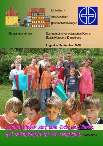 Gemeindebrief AUG-SEP-2008v.DOC - Zionsgemeinde