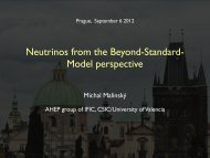 Neutrinos from the Beyond-Standard- Model perspective