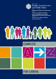 A-Z Guide for Carers - NIDirect