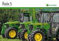 John Deere řada 5G (3,5 MB)