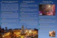 Flyer | Weihnachtsmarkt Dortmund 2012 - Weihnachtsmarkt.info