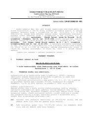 EXEKUTORSKÝ ÚŘAD PLZEŇ-MĚSTO - Městský úřad Litoměřice