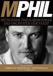 hil.de Christian thielemann / Piotr BeCzala - Münchner Philharmoniker