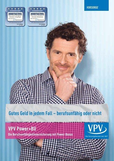 Power+BU Prospekt - VPV Makler