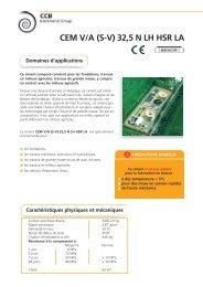 CEM V/A (S-V) 32,5 N LH HSR LA - CCB