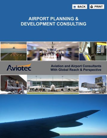 AIRPORT PLANNING & DEVELOPMENT CONSULTING