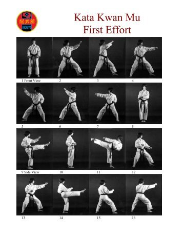 Kata Kwan Mu First Effort - Hickey Karate Center