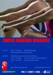 Swiss Rowing Indoors 2012 - Schweizerischer Ruderverband