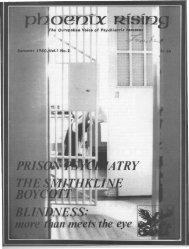Vol. 1, No. 2 - Psychiatric Survivor Archives of Toronto