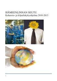 HÄMEENLINNAN SEUTU - Kehittämiskeskus Oy Häme