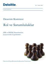 Denetim Komitesi: Rol ve Sorumluluklar - Denetimnet.Net