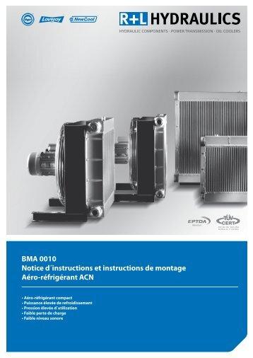 BMA 0010 Notice d´instructions et instructions de montage Aéro ...