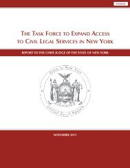 the task force to expand access to civil legal services in new york