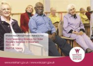 Older People Commissioning Plan 2013-18 – PDF version 2.9Mb