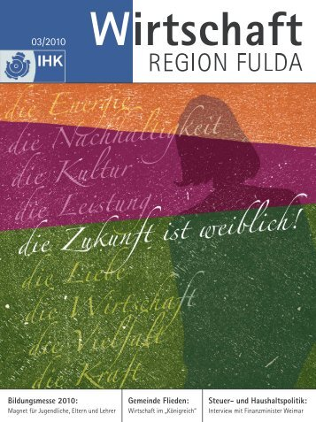 Bildungsmesse 2010: Gemeinde Flieden: Steuer- und - IHK Fulda