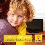 Guide de l'utilisateur télévision digitale - Klantenservice - Telenet