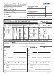 DMSB-Nennformular 2007 - MSV-Riesa eV im ADAC