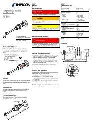 Rotary/linear motion feedthrough