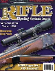 NEW Ruger No.1 - Wolfe Publishing Company