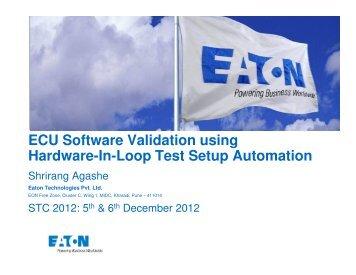 software in loop testing pdf