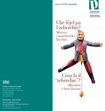 Visualizza la scheda pdf - Istitut Cultural Ladin