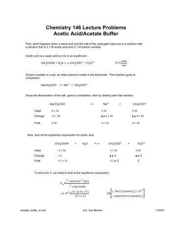 Sodium Acetate/Acetic Acid Buffer - mrdeakin - PBworks