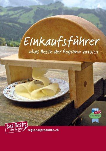 Einkaufsführer - Das Beste der Region Berner Oberland