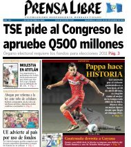Pappa hace HISTORIA - Prensa Libre