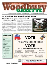 to view the September 13, 2012 issue as a pdf. - Woodbury Gazette
