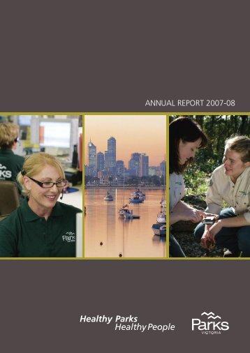 ANNUAL REPORT 2007-08 - Parks Victoria