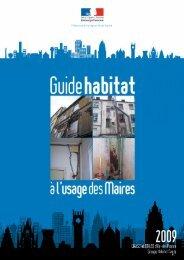 Guide Habitat à l'usage des Maires - DRIHL Ile-de-France