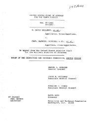 W. David Holloway v. Peat Marwick Mitchell - SEC Historical Society