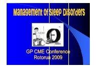 Sleep Studies, OSA and Insomnia (PDF Format)