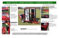 Progressive TDR22 Galvanized Tri-Deck Roller Mower - Vanmac.nl