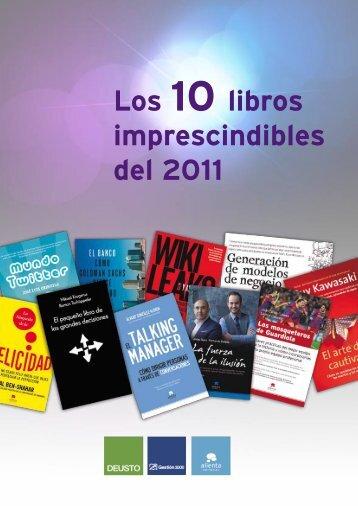 Los 10 libros imprescindibles del 2011 - PlanetadeLibros.com
