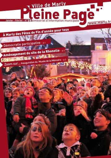 à Marly des Fêtes de Fin d'année pour tous - Mairie de Marly
