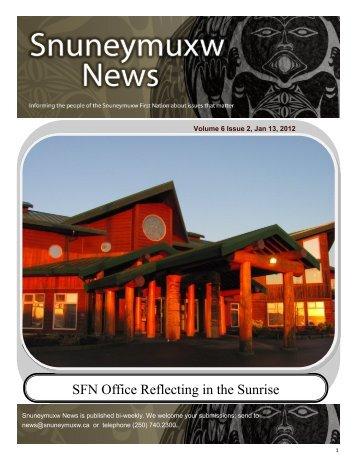 Download Newsletter PDF - Snuneymuxw First Nation