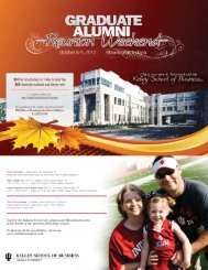 Kelley Direct Program - Kelley School of Business - Indiana University