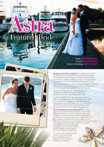Featured Bride - Astra Bridal