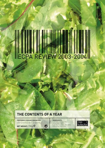 ECPA Annual Report 2003 - 2004 - European Crop Protection ...