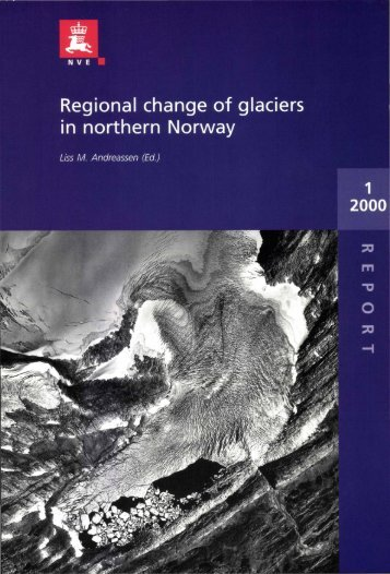 Regional change of glaeiers in northern Norway