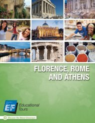 Florence, rome and athens - EF Educational Tours